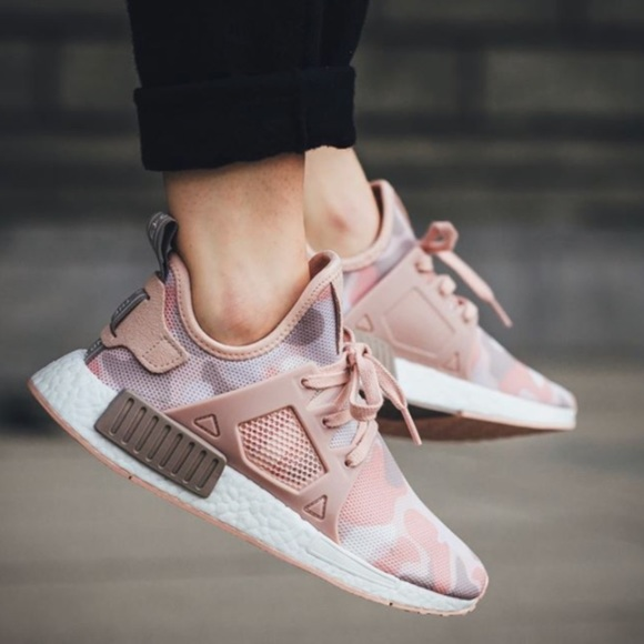 competitive price 87766 866b2 adidas NMD XR1 Pink Duck Camo womens